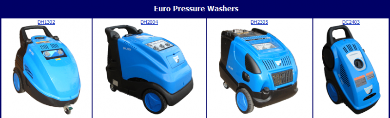 Euro line electric cold & hot water machines